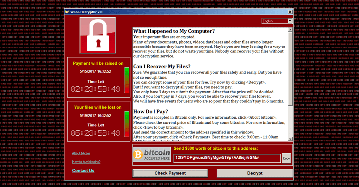 Ransomware Wanna Cry