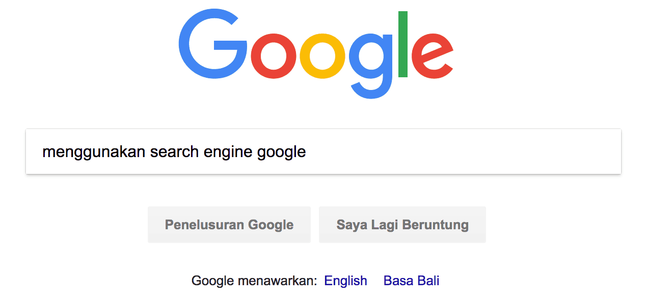 Search Engine Google